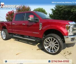 """2019 FORD F-250 LARIAT W/CUSTOM LIFT AND 26"""" HARDCORE OFFROAD RIMS"""