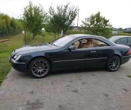 MERCEDES CL 500 306KM 2001R KEYLES GO C215 W215 S COUPE ZAMIANA GORZÓW WIELKOPOLSKI • OLX.