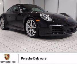 USED 2017 PORSCHE 911 CARRERA