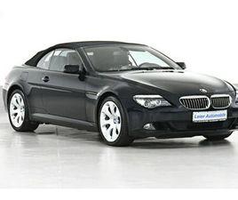 BMW 650I V8 CABRIO INDIVIDUAL*AUS 2 HAND*TOP-ZUSTAND