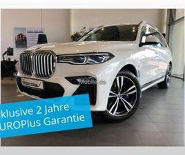 BMW X7 XDRIVE40D M SPORT PANO SKY AHK DAP STHZ LASER