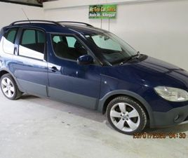 2011 SKODA ROOMSTER FOR SALE IN WESTMEATH FOR €6,000 ON DONEDEAL