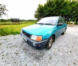 TOYOTA STARLET 1.3I 5 SPEED FOR SALE IN LIMERICK FOR €1,000 ON DONEDEAL