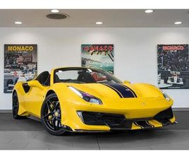 488 PISTA SPIDER 3.9 2DR CONVERTIBLE AUTOMATIC PETROL