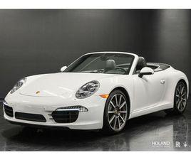 2013 PORSCHE 911 CABRIOLET CARRERA S - VENDU! SOLD! | CARS & TRUCKS | CITY OF MONTRÉAL | K