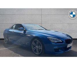 BMW 6 SERIES 640D M SPORT CONVERTIBLE 3.0 2DR