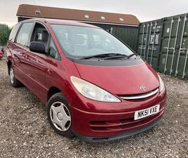 TOYOTA PREVIA 2.4 GS 8-SEATS VVT-I 5D 154 BHP WHEEL CHAIR RAMP FITTED ....