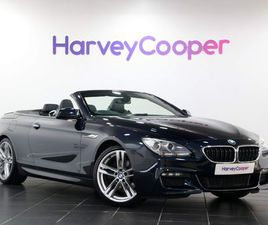 BMW 6 SERIES 3.0 640D M SPORT (S/S) 2DR