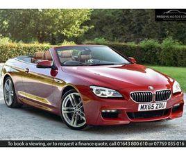 2015 BMW 6 SERIES 3.0 640I M SPORT CONVERTIBLE 2D - £25,970