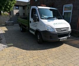 IVECO DAILY TIPPER 35C12 VERY LOW MILEAGE, INCLUDES HIGH MESH SIDES