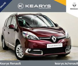 RENAULT GRAND SCENIC DYNAMIQUE NAV 130 BHP FOR SALE IN CORK FOR €13,990 ON DONEDEAL