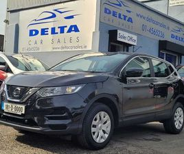 2018 NISSAN QASHQAI VISIA 1.5 DCI 110BHP NCT 07/23 FOR SALE IN DUBLIN FOR €17,499 ON DONED