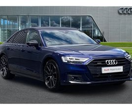 USED 2021 AUDI A8 50 TDI QUATTRO BLACK EDITION 4DR TIPTRONIC SALOON 5 MILES IN BLUE FOR SA