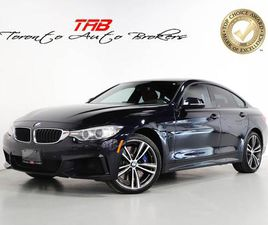 USED 2017 BMW 4 SERIES 440I XDRIVE GRAN COUPE I M-SPORT I RED LTHR I NAVI
