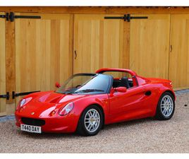 LOTUS ELISE S1, 1999. 19,900 MILES FROM NEW. LAST OWNER FOR 19 YEARS
