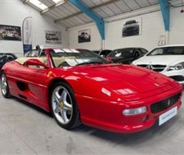 USED 1996 FERRARI F355 3.5 GTS SPIDER 2D CONVERTIBLE 42,786 MILES IN RED FOR SALE | CARSIT