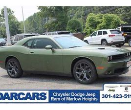 BRAND NEW GREEN COLOR 2020 DODGE CHALLENGER SXT FOR SALE IN TEMPLE HILLS, MD 20746. VIN IS