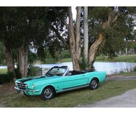 FORD MUSTANG CABRIOLET AUTOMATIQUE 1965