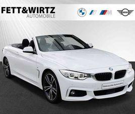 BMW 425 D CABRIO M SPORT LED HUD HIFI KOMFORTZ. RKF