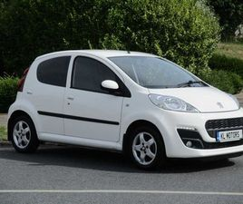 2014 PEUGEOT 107 **LOW MILEAGE** FOR SALE IN DUBLIN FOR €7,995 ON DONEDEAL