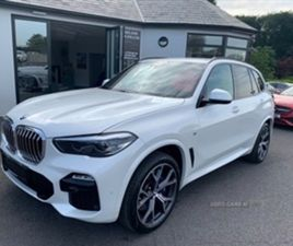 USED 2019 BMW X5 XDRIVE30D M SPORT AUTO NOT SPECIFIED 33,000 MILES IN WHITE FOR SALE | CAR
