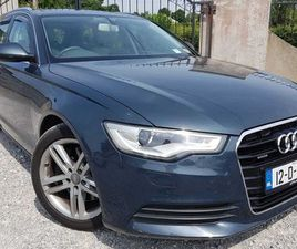 AUDI A6, 2012 AVANT 3.0 QUATTRO 245BHP NCT AUTO FOR SALE IN DUBLIN FOR €14,900 ON DONEDEAL