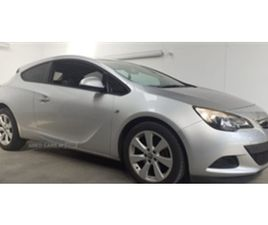 USED 2012 VAUXHALL GTC SPORT CDTI S/S HATCHBACK 117,000 MILES IN SILVER FOR SALE | CARSITE