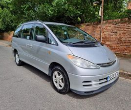 TOYOTA PREVIA 2.4 GLS 5DR (7 SEATS, LEATHER)