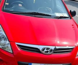 HYUNDAI I20 FOR SALE IN DUBLIN FOR €4,999 ON DONEDEAL