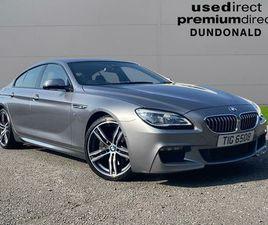 2018 BMW 6 SERIES 3.0TD 640D M SPORT GRAN COUPE 4D - £27,450