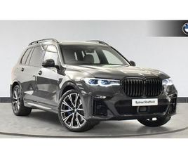BMW BMW X7 ESTATE XDRIVE M50I 5DR STEP AUTO [ULTIMATE PACK] 4.4