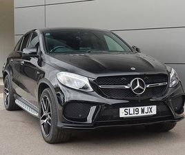 MERCEDES-BENZ GLE CLASS GLE 43 4MATIC NIGHT EDITION 5DR 9G-TRONIC ESTATE