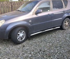 SSANGYONG REXTON FOR SALE IN TYRONE FOR £0 ON DONEDEAL