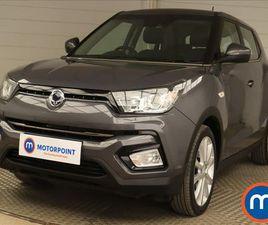 2019 SSANGYONG TIVOLI 1.6 ELX (2WD) (S/S) AUTO - £11,999