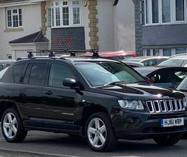 2011 JEEP COMPASS 2.2CRD LIMITED (161BHP) - £5,250