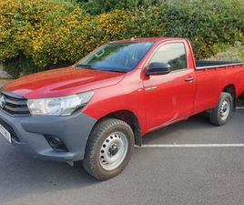 TOYOTA HILUX ACTIVE 3.2T D-4D 150 / MINT CONDITION FOR SALE IN TIPPERARY FOR €24,999 ON DO