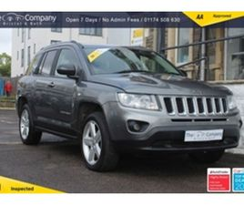 USED 2012 JEEP COMPASS 2.1 CRD LIMITED 4WD 5D 161 BHP ESTATE 99,500 MILES IN GREY FOR SALE
