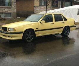 VOLVO 850 T5-R JAUNE / YELLOW / GUL   CARS & TRUCKS   LAVAL / NORTH SHORE   KIJIJI