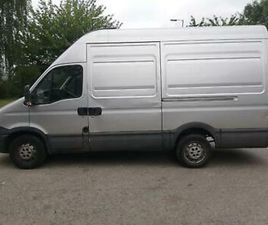 2012 12 IVECO DAILY 2.3 TD 35S13 MWB HIGH ROOF SILVER £4000 SPENT!! PX SWAPS