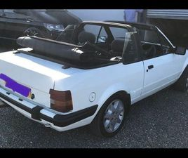 FORD ESCORT CABRIOLET XR3I 1985 VERY RARE FOR SALE IN CARLOW FOR €12,345 ON DONEDEAL