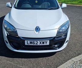 2012 MEGANE COUPE 1.5DCI 79K BELTED AND SERVICED FOR SALE IN ANTRIM FOR £3,350 ON DONEDEAL