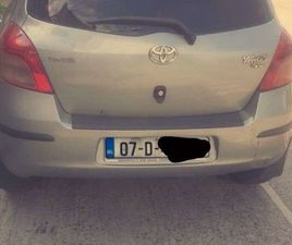 TOYOTA YARIS 1.4 FOR SALE IN DUBLIN FOR €1,600 ON DONEDEAL