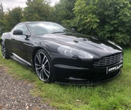 USED 2010 ASTON MARTIN DBS V12 COUPE 13,400 MILES IN BLACK FOR SALE   CARSITE