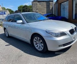USED 2007 BMW 5 SERIES SE TOURING A ESTATE 170,000 MILES IN SILVER FOR SALE   CARSITE