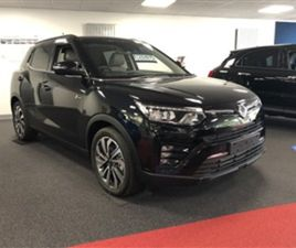 USED 2021 SSANGYONG TIVOLI 1.5 TB 165HP ULTIMATE NOT SPECIFIED 1 MILES IN BLACK FOR SALE |