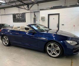 BMW 6 SERIES 4.4 650I V8 SE 2DR