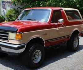 FORD BRONCO SUV AUTOMATIQUE 1989