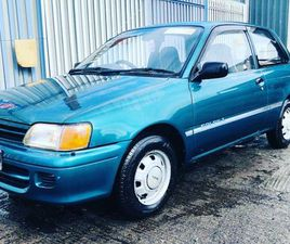 93 TOYOTA STARLET, NEW NCT! TAX 03/22! LOW MILES, FOR SALE IN DUBLIN FOR €3,250 ON DONEDEA