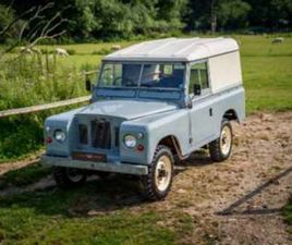 A 88'' HARD TOP ORIGINAL PATINA GALVANISED CHASSIS 1971
