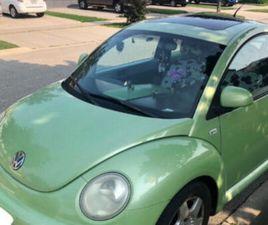 VOLKSWAGEN 2000 GREEN BEETLE WITH SPOILER   CLASSIC CARS   HAMILTON   KIJIJI
